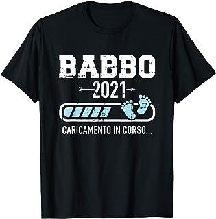 Uomo Babbo Papà 2021 caricamento Maglietta