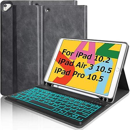 Teclado para iPad 10.2 8 Gen 2020/7 Gen 2019/Air 3 10.5/Pro 10.5