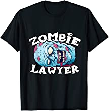 Zombie LAWYER T-Shirt Halloween Simple Costume LAWYERS T-Shirt