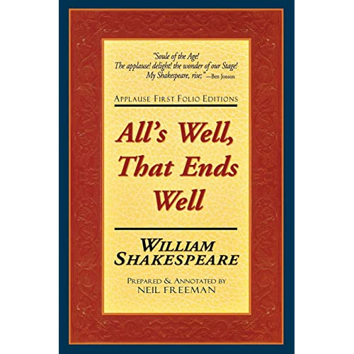 alls well that ends well applause books
