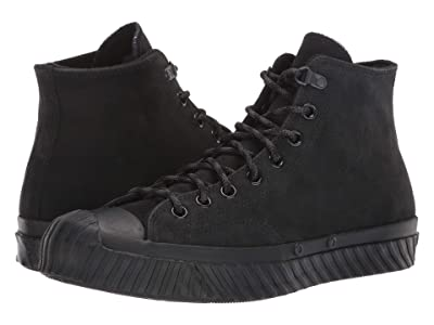 Converse Chuck 70 Bosey Water Repellent Hi (Black/Almost Black/Black) Shoes
