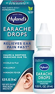 Ear Drops for Swimmers Ear and Allergy Relief for Kids and Adults by Hyland's, for Clogged Ears, Earaches, Fast Natural Ho...