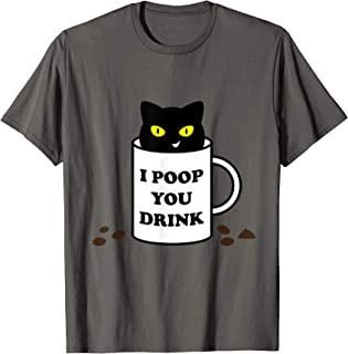 Cute Kawaii Funny Devious Civet Cat Poop Coffee Kopi Luwak T-Shirt
