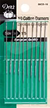 Dritz 56CD-15 Cotton Darners Hand Needles, Size 1/5 (10-Count)