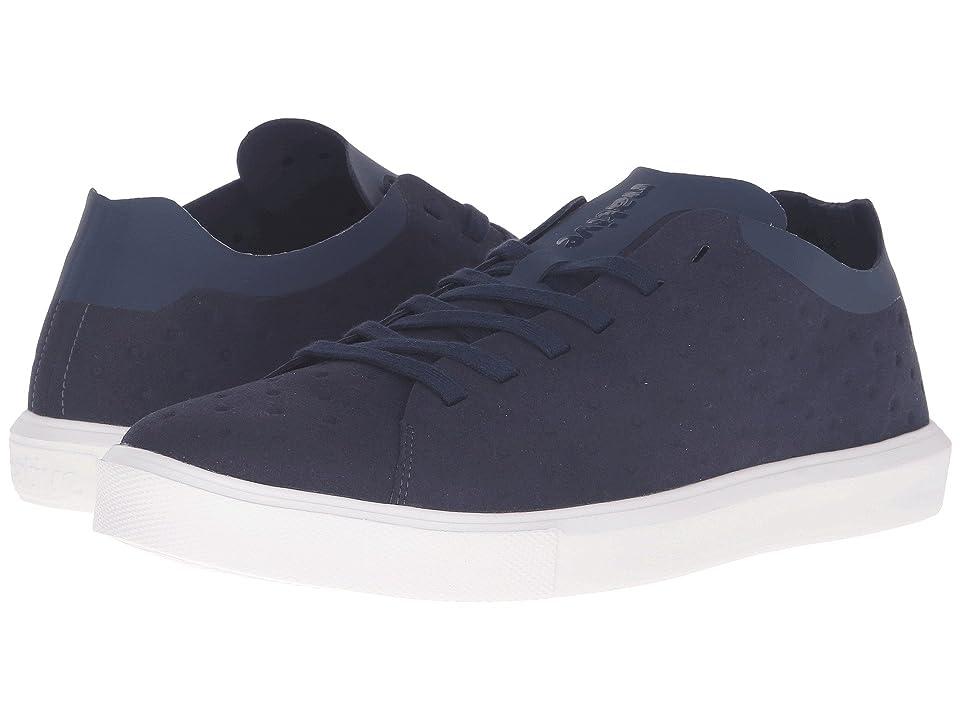Native Shoes Monaco Low (Regatta Blue/Shell White) Lace up casual Shoes