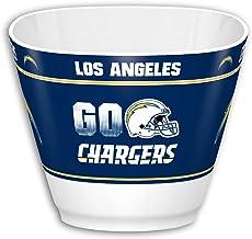 """Fremont Die NFL Fan Shop Party Snack Bowl 7.85"""" Bowl (1 Gallon) White/Team Colors"""