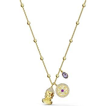 SWAROVSKI Women's Symbol Pendant, Light multi-colored, Gold-tone plated (Amazon Exclusive)