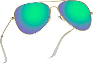 Best green reflective aviators Reviews