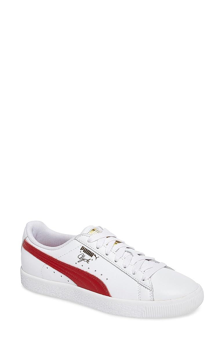 請求可能大工魅力的プーマ シューズ スニーカー PUMA Clyde Sneaker (Women) White/ Che [並行輸入品]