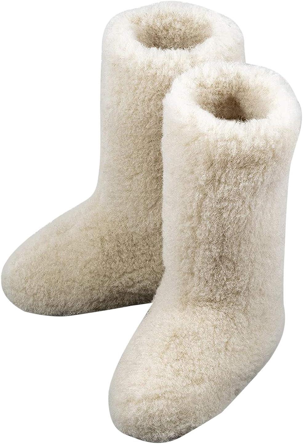 Women's Tall Calf Merino Wool Boots