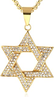 iced out star of david