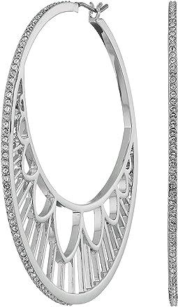 Swarovski - Georgette Pierced Earrings Hoops
