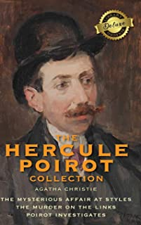 The Hercule Poirot Collection (Deluxe Library Binding): The Mysterious Affair at Styles, The Murder on the Links, Poirot I...