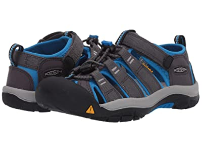 KEEN Kids Newport H2 (Little Kid/Big Kid) (Magnet/Brilliant Blue) Kids Shoes