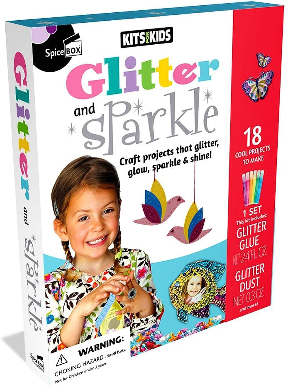 Spice Box Kits für Kinder Glitter & Sparkle Spielzeug