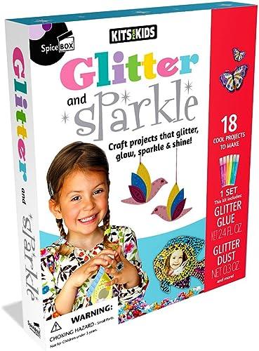 Entrega gratuita y rápida disponible. Spicebox Kits para Niños con Purpurina y Purpurina Purpurina Purpurina Juguete  grandes precios de descuento