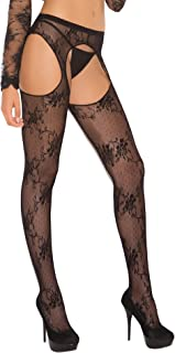 Women's Lace Suspender Pantyhose