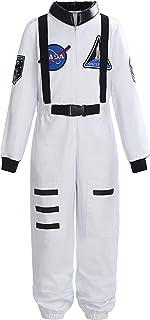 ReliBeauty Boys Girls Kids Children Astronaut Role Play Costume
