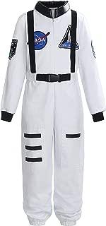 Boys Girls Kids Children Astronaut Role Play Costume