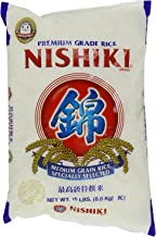 Nishiki Premium Rice, Medium Grain, 15-Pound Bag (Pack of 2)