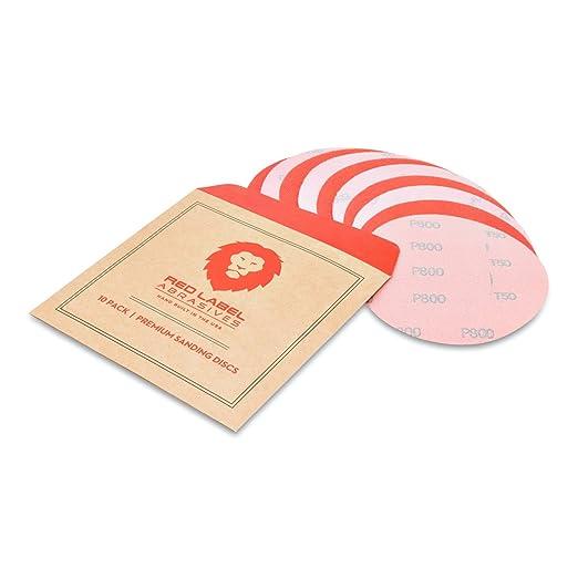 Eastwood 5 Pack 5 inch Wet Jitterbug Sandpaper Hook /& Loop Disc 1000 Grit
