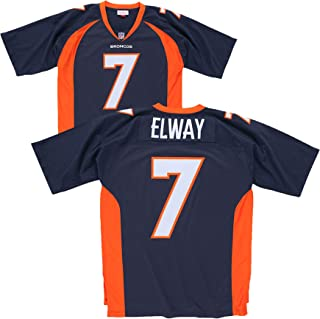 Mitchell & Ness John Elway Denver Broncos Navy Throwback Jersey