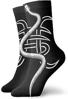 Lsjuee, Her-oes D-el Si-lencio Hombre mujer Calcetines medios calcetines deportivos Four Seasons lovers