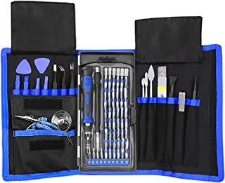 XOOL 80 in 1 Precision Set with Magnetic Driver Kit, Professional Electronics Repair Tool..