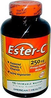 American Health Ester-C Chew Wafer 250Mg, 125 ct