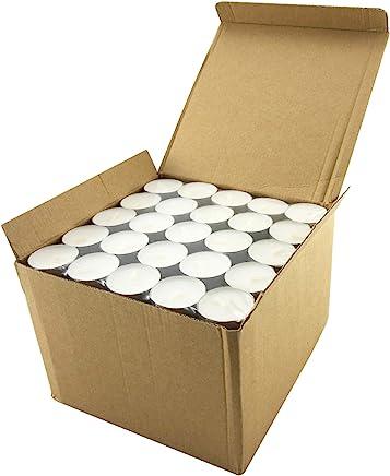 Stonebriar Long Burning Tealight Candles,  6 to 7 Hour Extended Burn Time, Bulk 200-Pack