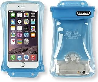 【DiCAPac】WP-C2/ブルー/スマホ 全機種対応 100% 完全防水/4.7~5.5インチ/5.7インチ以下(アイフォン 6~iPhone7 Plus/ギャラクシーS7/S7edge/GALAXY Noteなど) JIS IPX8規格獲得・正規品/携帯 防水パック/iphone、galaxy、XPERIA、AQUOS【DAIYO】 [並行輸入品]