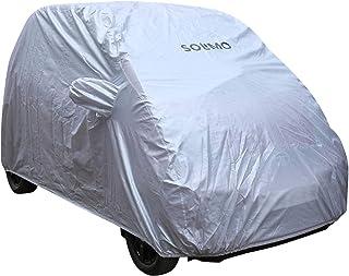 Amazon Brand - Solimo Tata Nano UV Protection & Dustproof Car Cover (Silver)