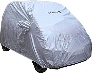 Amazon Brand - Solimo Tata Nano Water Resistant Car Cover (Silver)