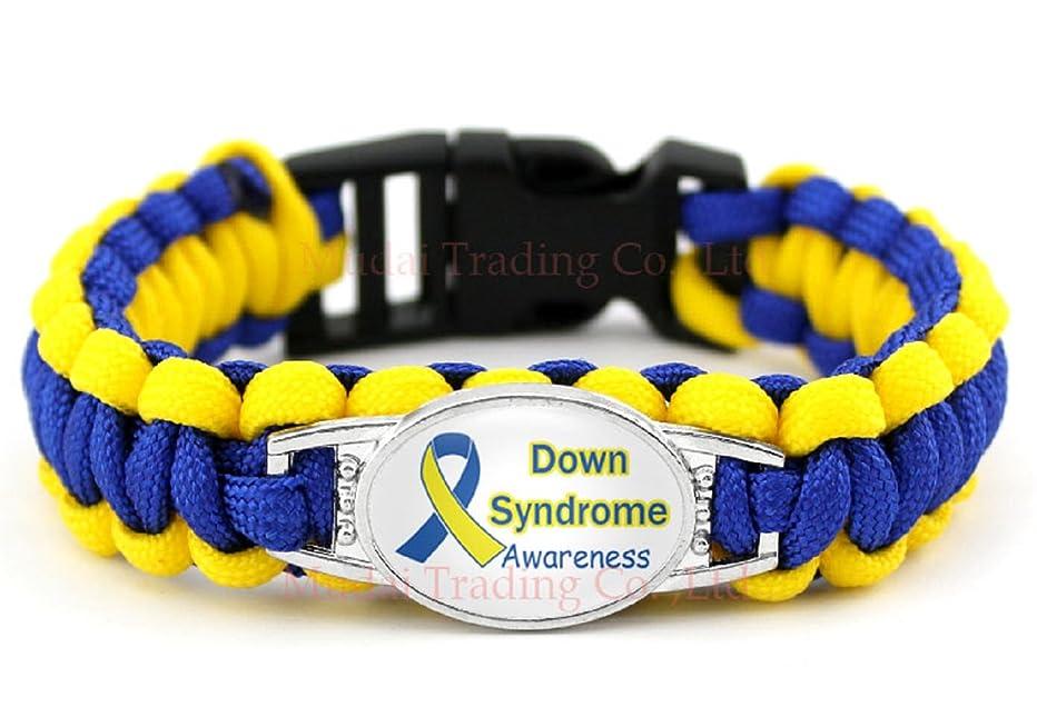 Down Syndrome Awareness para Cord Bracelet Wristband