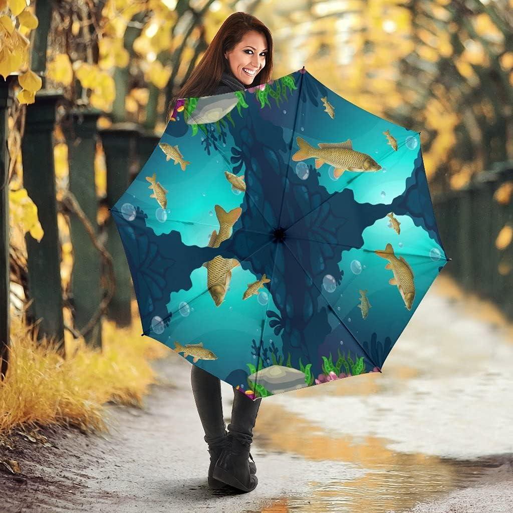 Pawlice Common Carp Print Manufacturer direct delivery Oklahoma City Mall Umbrellas Fish