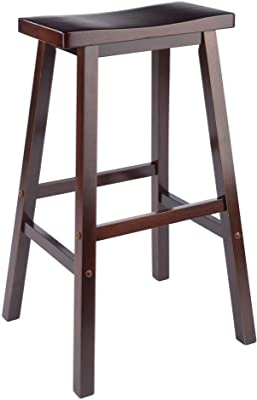 Winsome 94089 Satori Stool 29 Walnut Furniture Decor
