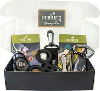 Fly Fishing Accessories Pack | Nippers & Nail Knot Tying...
