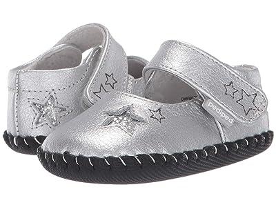 pediped Sophia Original (Infant) (Silver) Girl