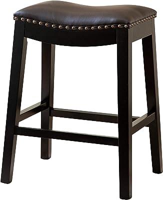 Peachy Amazon Com Madison Park Belfast Bar Stools Contour Fabric Andrewgaddart Wooden Chair Designs For Living Room Andrewgaddartcom