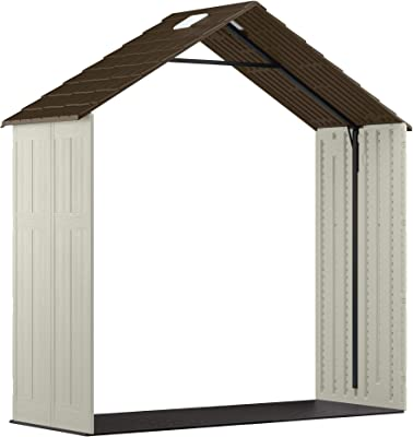 Suncast BMS80 Customizable Extension Kit for Tremont Shed, Vanilla