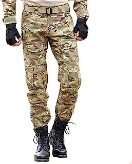 Pantalones Tácticos Militares para Hombres con Rodilleras Pantalones De Trabajo De Combate