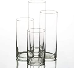 Eastland Glass Cylinder Vases Set of 48