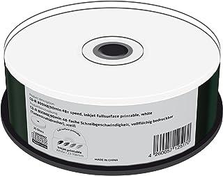 MediaRange MR242 CD-R 800MB (90min. 48x Speed, Printable, Pack of 25).