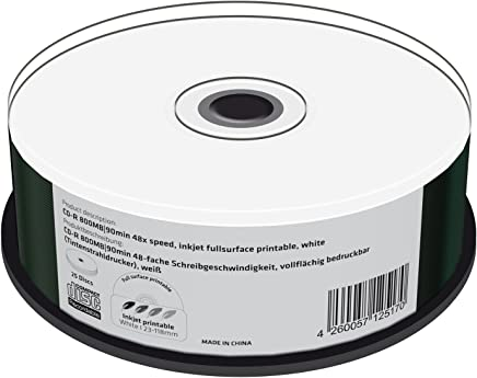 photo about Printable Cds identify : printable cds - MEDIARANGE