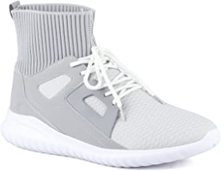 Mufti Grey Ankle Length Sneakers