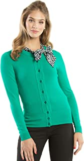 Review Women's Chessie Longer Line Cardi Emerald