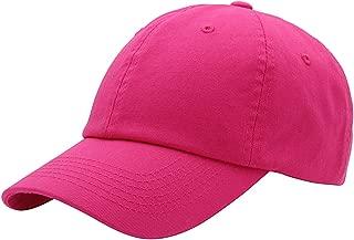 Baseball Cap for Men Women - Classic Cotton Dad Hat Plain Cap Low Profile