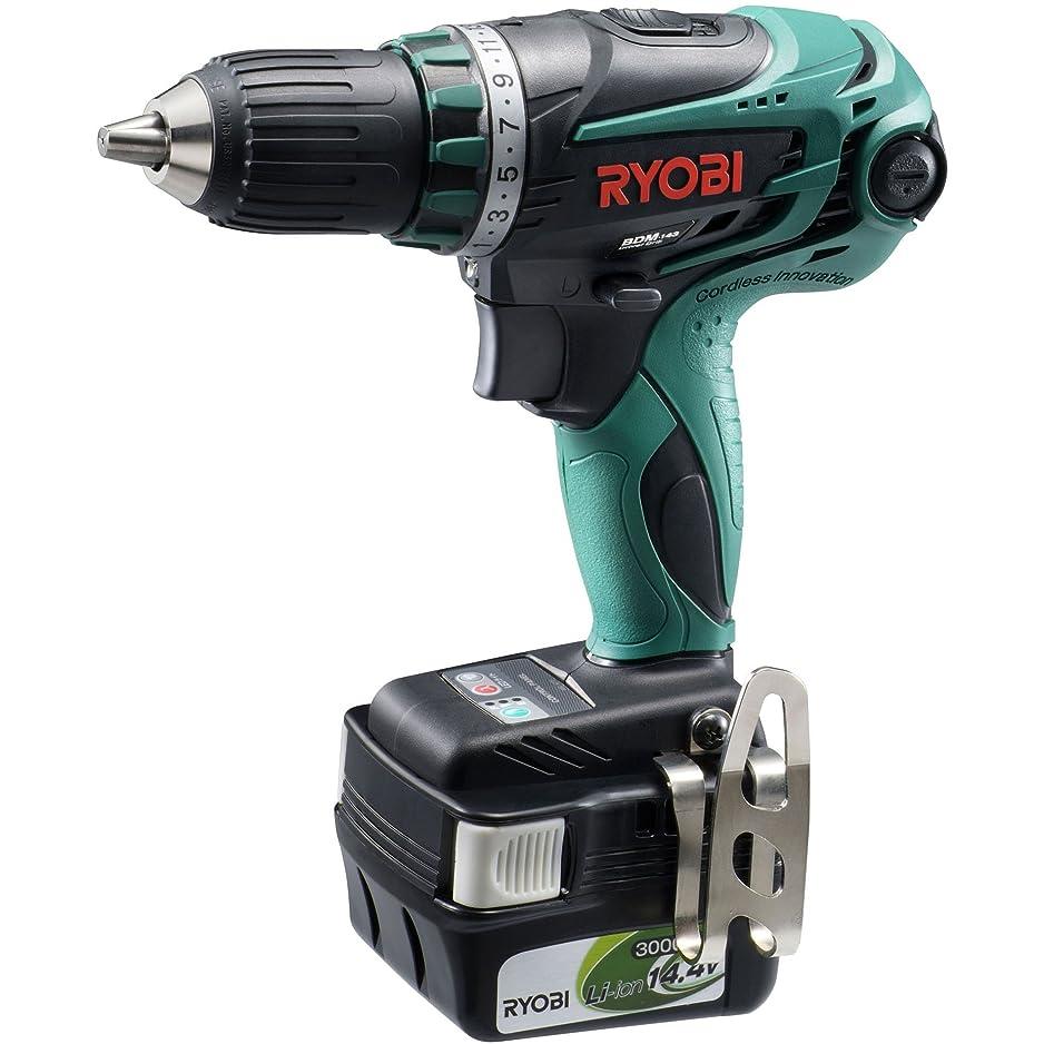 朝なる変換リョービ(RYOBI) 充電式ドライバードリル 14.4V BDM-143 647700A