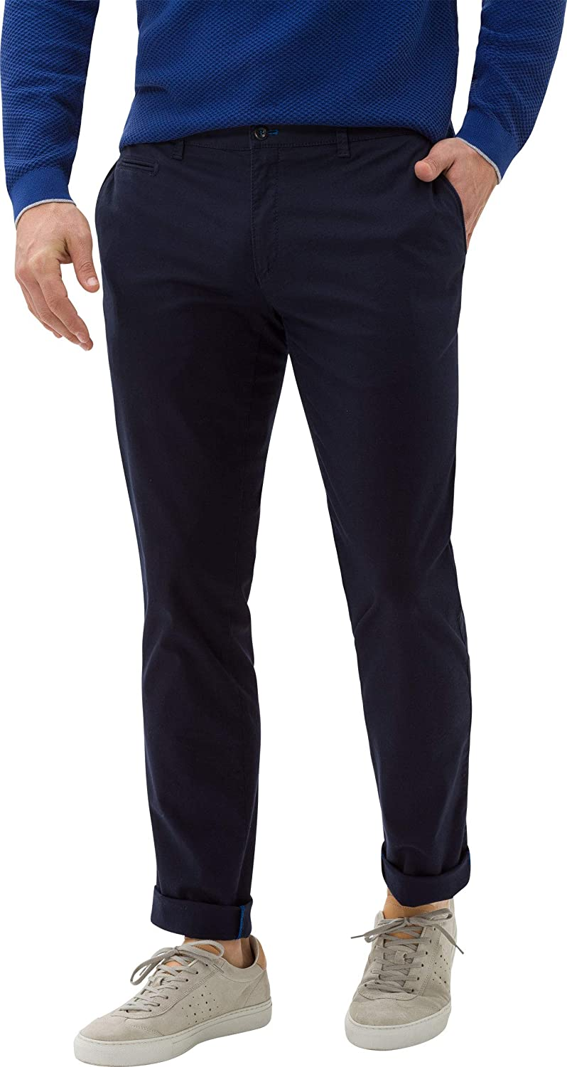 BRAX Men's Style Fabio in Hi Flex Trouser Blue ( Ocean )