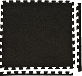 Greatmats Royal Interlocking Carpet Tiles 10x10 Ft Kit Charcoal
